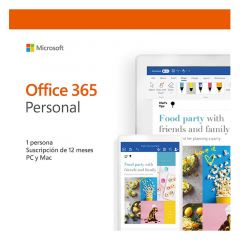 MICROSOFT OFFICE 365 PERSONAL 2019 PC/MAC - 1 USUARIO