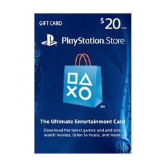 NETCARDS - PLAYSTATION $20