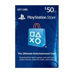 NETCARDS - PLAYSTATION $50