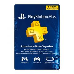 NETCARDS - PLAYSTATION PLUS - 1 YEAR