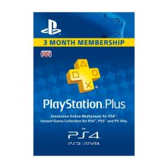 NETCARDS - PLAYSTATION PLUS - 3 MESES