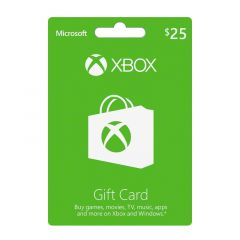 NET CARDS - XBOXLIVE $25