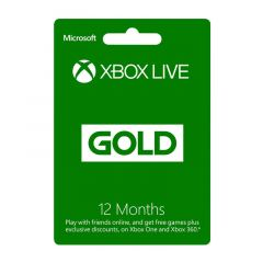 NETCARDS - XBOXLIVE - 1 YEARS