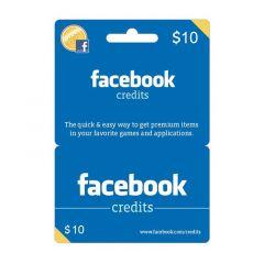 NETCARDS - FACEBOOK $10