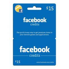 NETCARDS - FACEBOOK $15