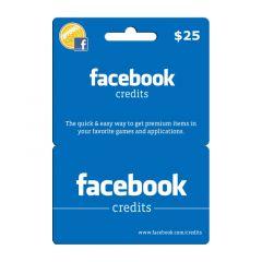 NETCARDS - FACEBOOK $25