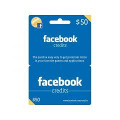NETCARDS - FACEBOOK $50