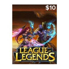 NETCARDS - LEAGUE OF LEGENDS $10