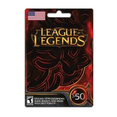 LEAGUE OF LEGENDS 50.00 USD