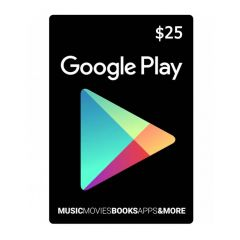 NETCARDS - GOOGLE PLAY $25