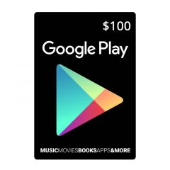 NETCARDS - GOOGLE PLAY $100