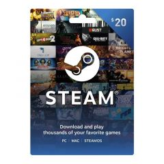 NETCARDS - STEAM $20
