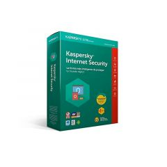 ANTIVIRUS KASPERSKY INTERNET SECURITY - 3 USUARIO - 1 AÑO