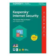 ANTIVIRUS KASPERSKY INTERNET SECURITY - MULTIDISPOSITIVOS - 10 USUARIOS - 1 AÑO