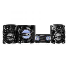 PANASONIC - MINICOMPONENTE BLUETOOTH MEMORIA 4GB 2200W SC-AKX900 – NEGRO