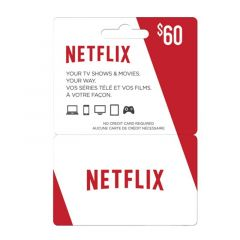 NETCARDS - NEFTLIX $60