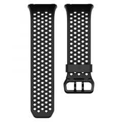 FITBIT SPORT BAND WATCH STRAP FOR FITBIT IONIC BLACK CHARCOAL LARGE