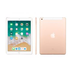 APPLE IPAD RETINA 9.7'', 32GB, IOS 11, WIFI + CELLULAR, ORO