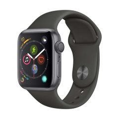 ‌SMARTWATCH APPLE WATCH SERIES 4 GPS, 40MM SPACE GRAY ALUMINUM CASE - BLACK SPORT BAND