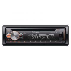 RECEPTOR DE CD PIONEER DEH-X500BT CON MIXTRAX, BLUETOOTH, USB, AUX - NEGRO