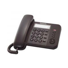 TELÉFONO ALÁMBRICO PANASONIC KXTS520LXB NEGRO