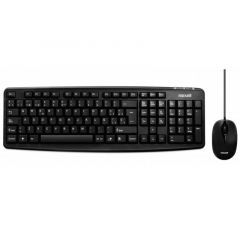 MAXELL COMBO TECLADO Y MOUSE WRKBC10 USB - NEGRO