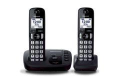 TELEFONO INALAMBRICO DECT CONTESTADOR KIT DE 2