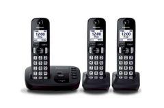 TELEFONO INALAMBRICO DECT CONTESTADOR KIT DE 3