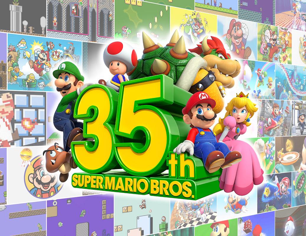 35th. Super Mario Bros.