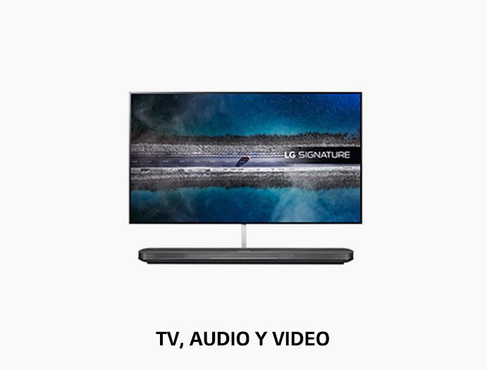 TV, Audio y Video LG
