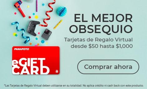 Tarjeta de Regalo Virtual