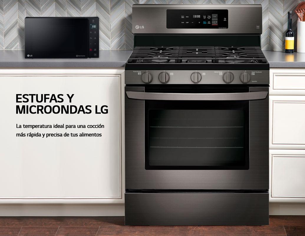 Microondas y Estufas LG
